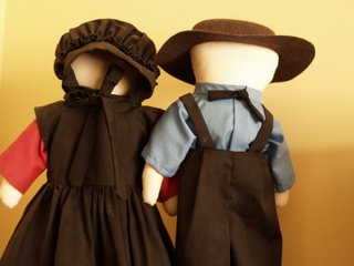 Traditional Amish Dolls