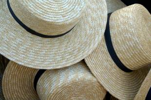 amish straw hats