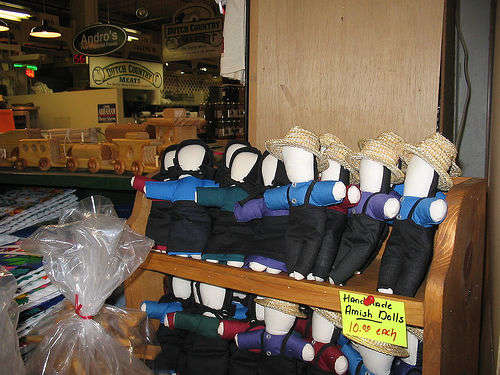 Amish Dolls on sale