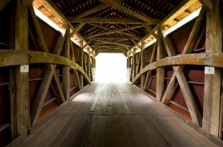 Lancaster Covered Bridge Interior