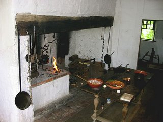Hans Herr House Kitchen