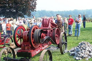 Historic Lancaster County Farm Machinery