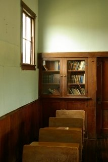 Interior of an Amish School