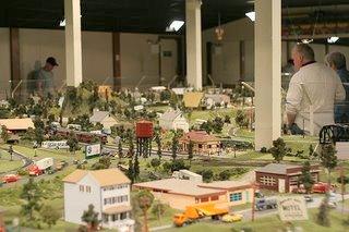 Choo Choo Barn Toy Train Layout