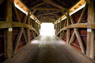 Lancaster Covered Bridge Interior