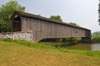 Hunnsecker's Mill Covered Bridge